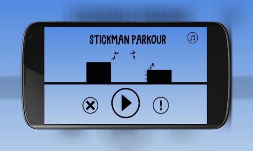 Stickman Parkour - náhled