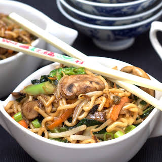 Perfect Chinese Noodles.