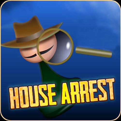 House Arrest  detective board game 1.34
