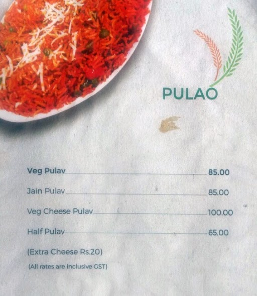 MH-12 Pav Bhaji menu 6