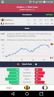 AFL - Footyinfo Live Scores- screenshot thumbnail