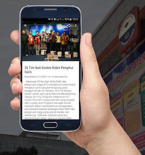 UPU Mobile - náhled