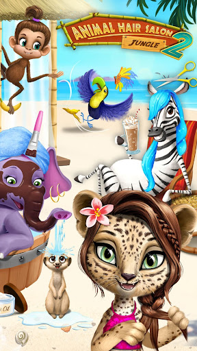 Jungle Animal Hair Salon 2 - Tropical Beauty Salon screenshots 2