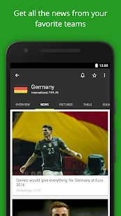 FotMob - Euro 2016 Scores Screenshot 4