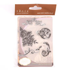 Tonic Studios Clear Stamp Set - Bouquet & Bauble 976E