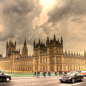Houses of Parliament by Luke Aylen - Buildings & Architecture Other Exteriors ( landmark, hdr, london, big ben, houses of parliament )