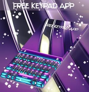 Volná aplikace klávesnice - náhled