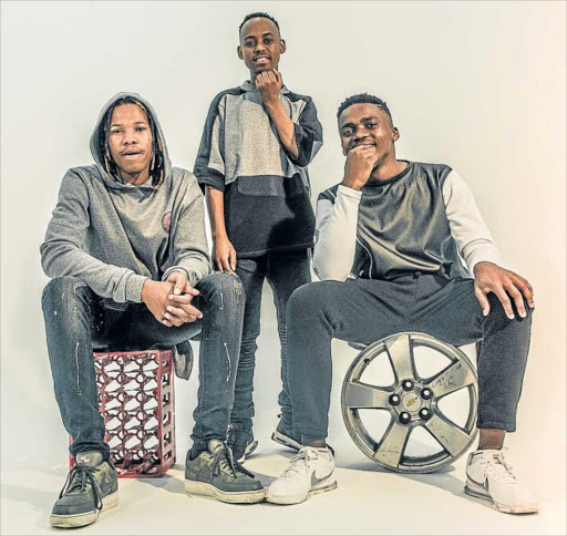 CREATIVE: Mthatha's very own 047 singing group hopes to take the airwaves by storm with their debut single, 'Ubuhle' Picture: SUPPLIED