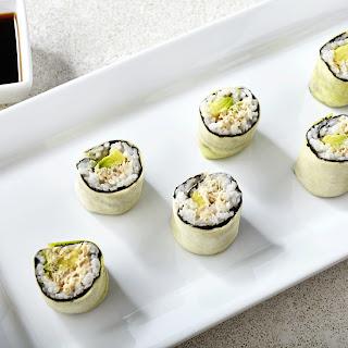Spicy Zucchini Tuna Rolls Recipe