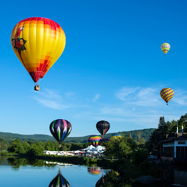 7 Balloons at 7AM by Peter Miller - Transportation Other