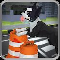Pet Dog Highway Run icon