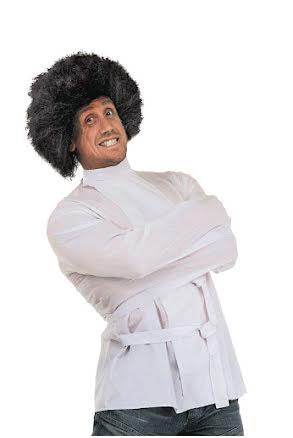 Tvångströja, vit