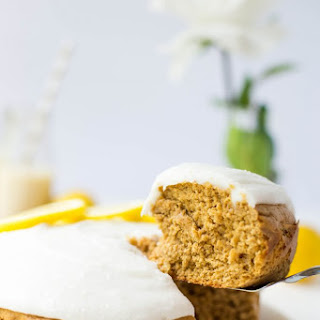 Lemon Tahini Cake.