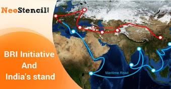 BRI Initiative and India's stand