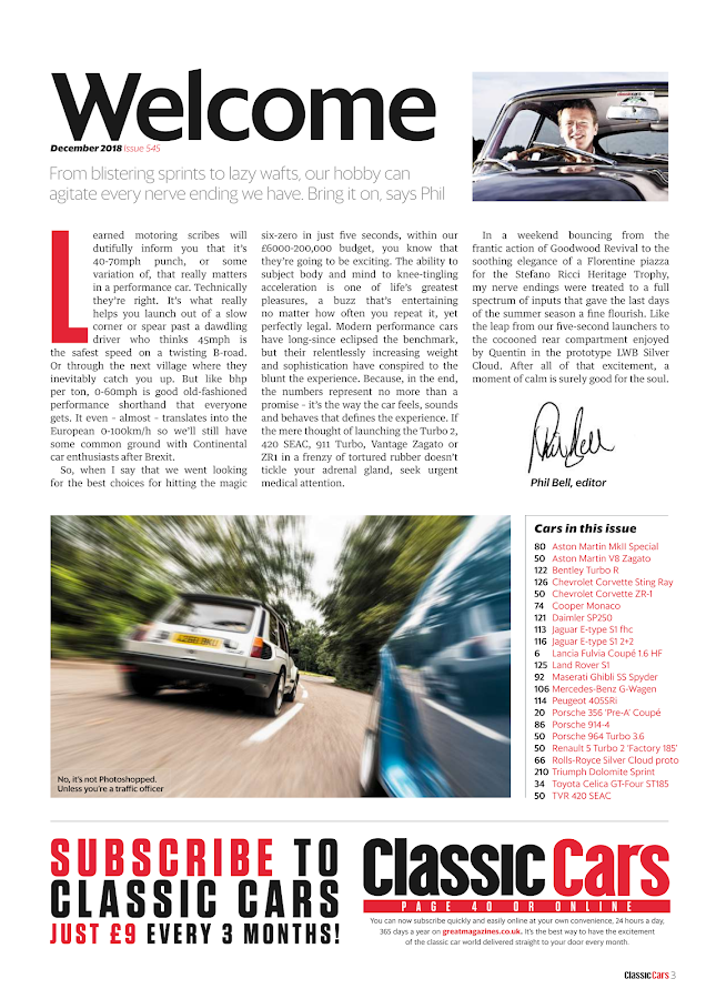 Classic Cars Magazine- screenshot