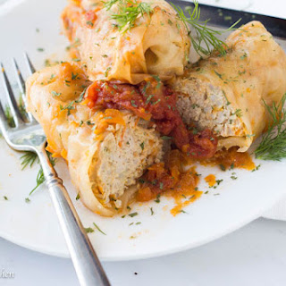 Instant Pot Stuffed Cabbage.