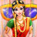 South Indian Bride Wedding Salon-Dress Up & Makeup icon