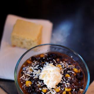 Easy Pressure-Cooker Vegan Black Bean Chili.