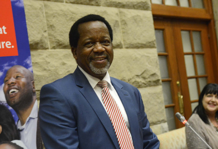 African Christian Democratic Party leader Kenneth Meshoe. Picture: TREVOR SAMSON