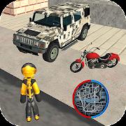 Game Stickman Rope Hero Vice Miami Crime Simulator APK for Windows Phone