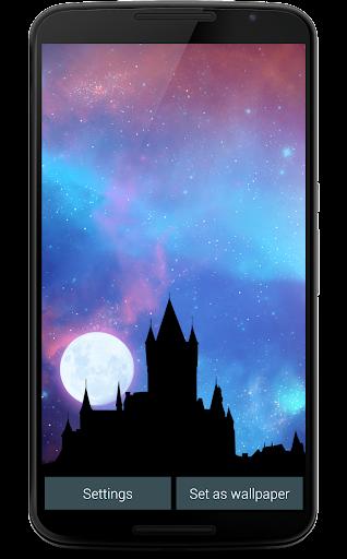 Nightfall Live Wallpaper Free screenshot