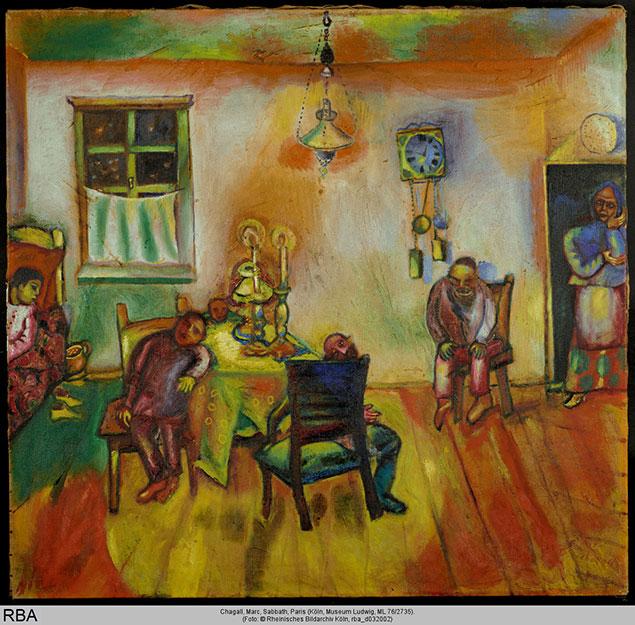 Марк Шагал. Шабат.