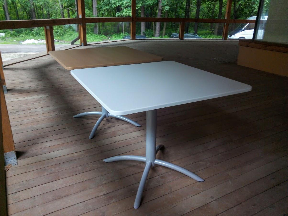 Стол для кафе - Модульная офисная мебель, Металлические каркасы столов, Мебельные опоры ✆ 0679245444