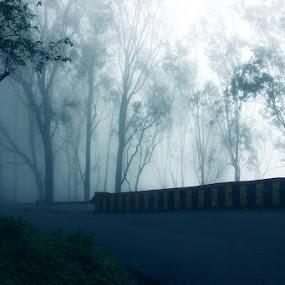 Nandi Hill, Bangalore by Shubhendu Bikash Mazumder - Landscapes Mountains & Hills