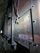 Photo: on voit le bout du tunnel et du convoi