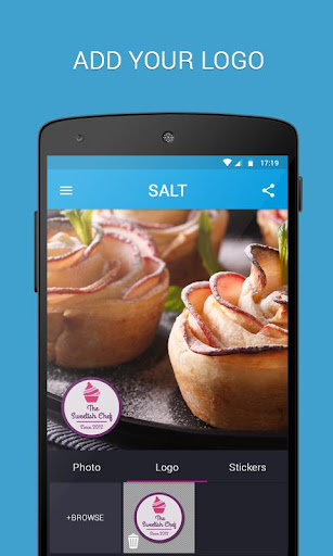 SALT - Watermark, resize & add text to photos  screenshots 2