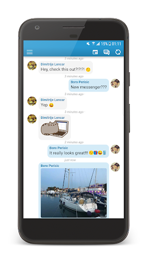 Inbox Messenger Lite screenshot 5