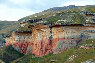 Photo: The Mushroom Rocks, Golden Gate Highlands National Park (South Africa).