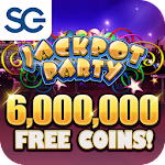 Jackpot Party Casino: Slot Machines & Casino Games Icon