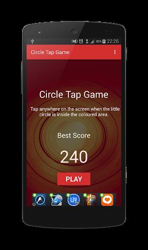 Circle Tap Game