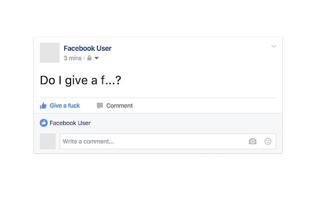 Like I Give a Fuck