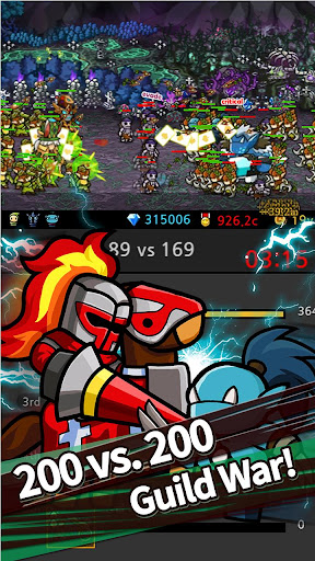 LINE Endless Frontier 2.0.4 screenshots 8