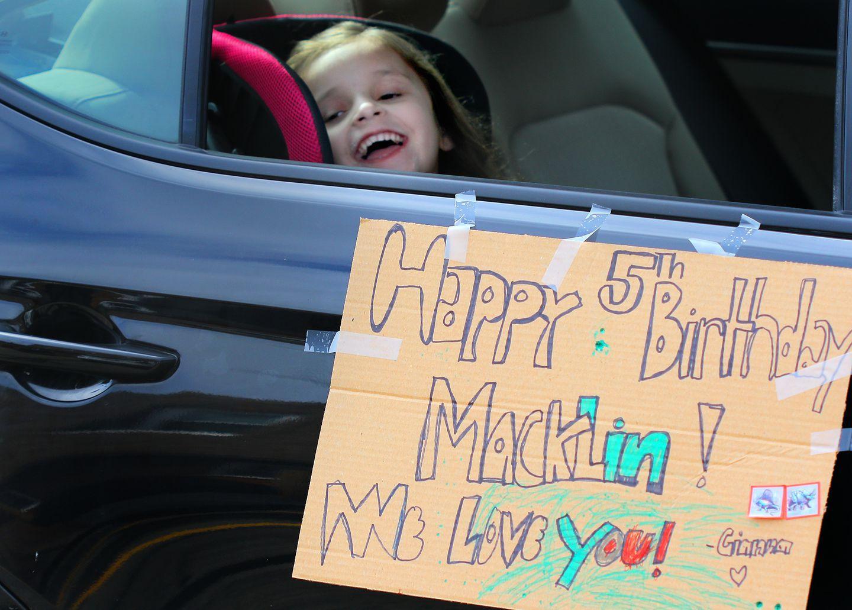 Birthday during quarantine