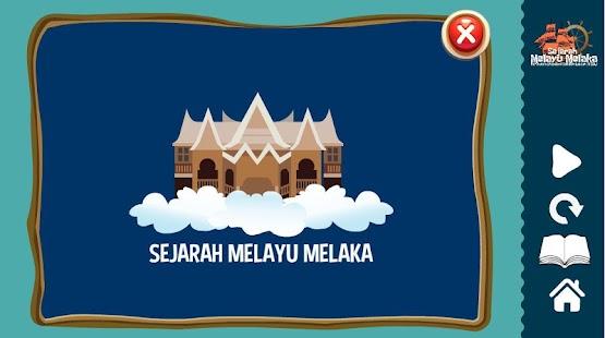 E-Sejarah Melayu Melaka KSSR - náhled