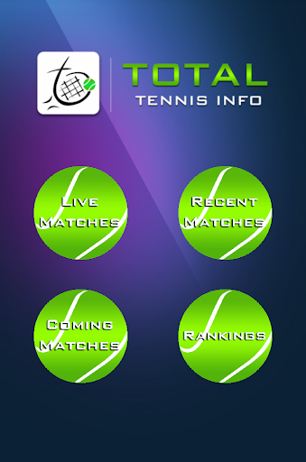 Live Tennis Scores & Updates screenshot 1