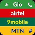 9jaCodes - Glo, MTN, 9mobile, Airtel icon