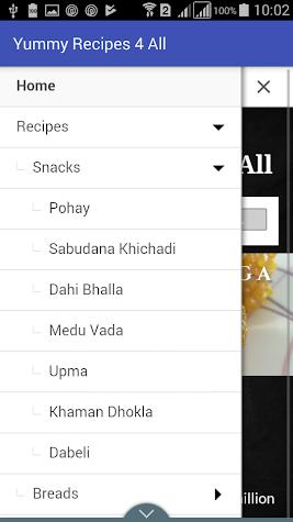 Yummy Recipes 4 All Screenshot