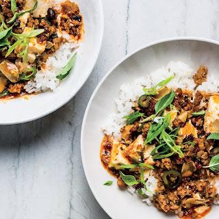 Weeknight Mapo Tofu with Ground Pork Recipe | Epicurious.Com Recipe