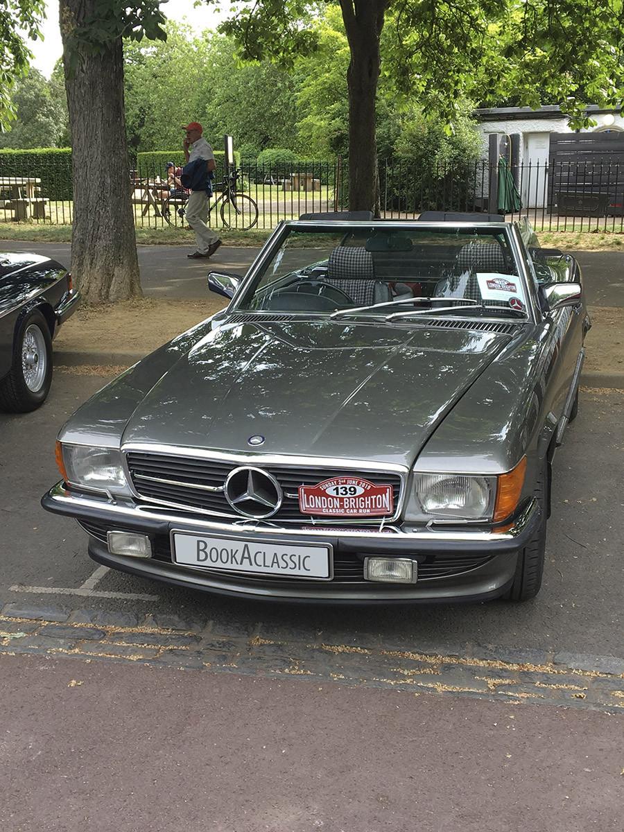 Mercedes-Benz 500SL Hire Bexley
