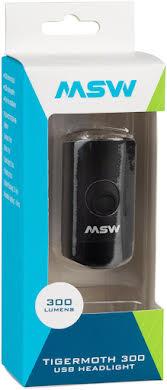 MSW Tigermoth 300 USB Headlight, 300 Lumen alternate image 0