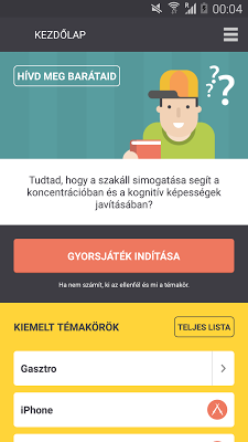 Penge - screenshot