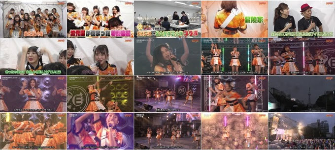 (TV-Music)(1080i) SKE48 Part – BOMBER-E 181016
