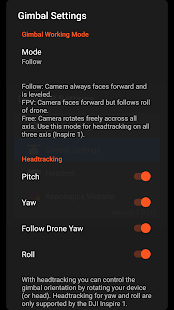 DroneVR+ FPV for DJI Drones- screenshot thumbnail