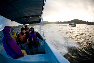 Photo: Whale watching trip in Magdalena Bay on the west side of the Baja Peninsula, Mexico.