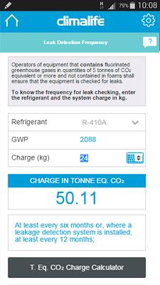 F-Gas Solutions - screenshot