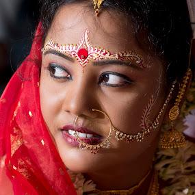 by Rathin Halder - People Portraits of Women